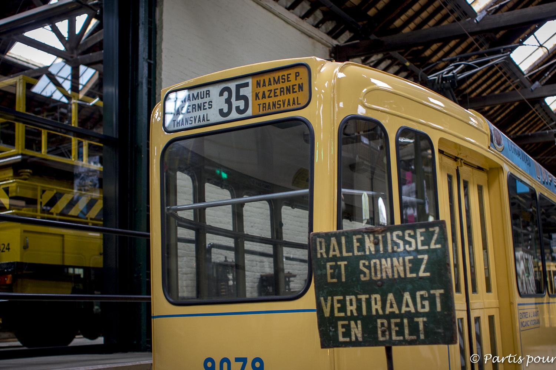 Musée du tram, Bruxelles, Belgique. Bilan vie nomade