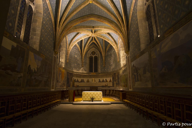 Cathédrale Saint-Jean, Besançon, France. Bilan vie nomade