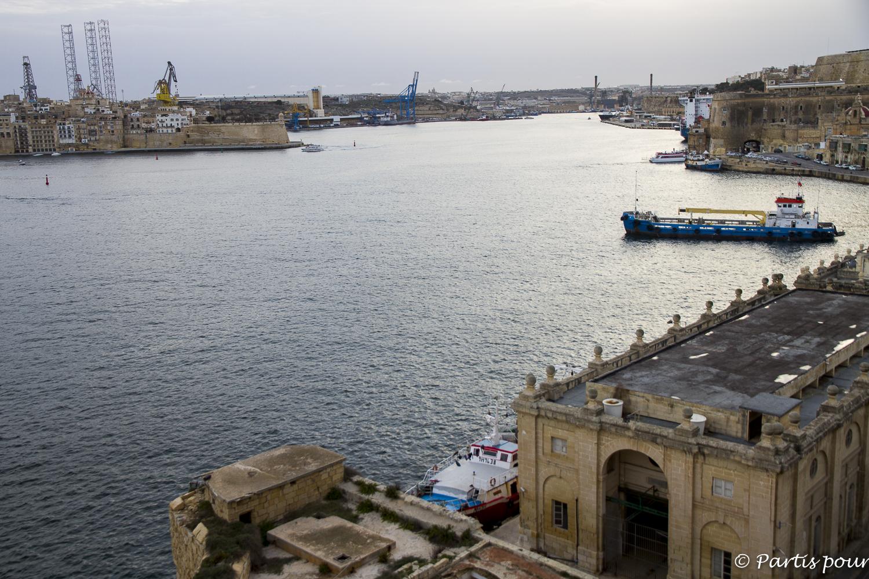 Valletta Harbour, Malta. Bilan vie nomade
