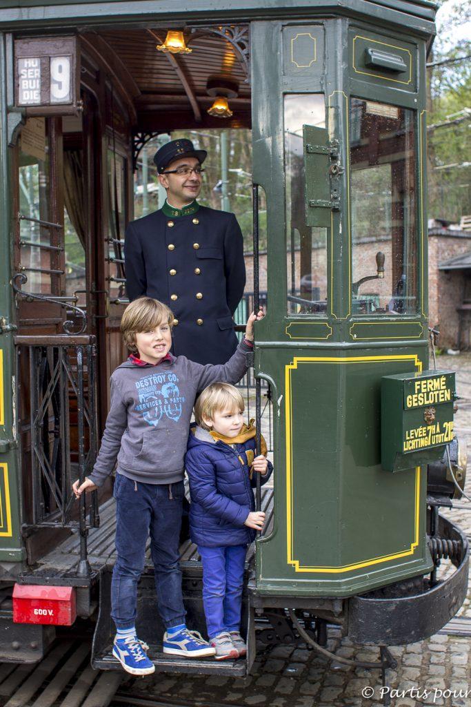 Nos bonnes adresses pour un week-end en famille à Bruxelles : le Musée du Transport Urbain bruxellois