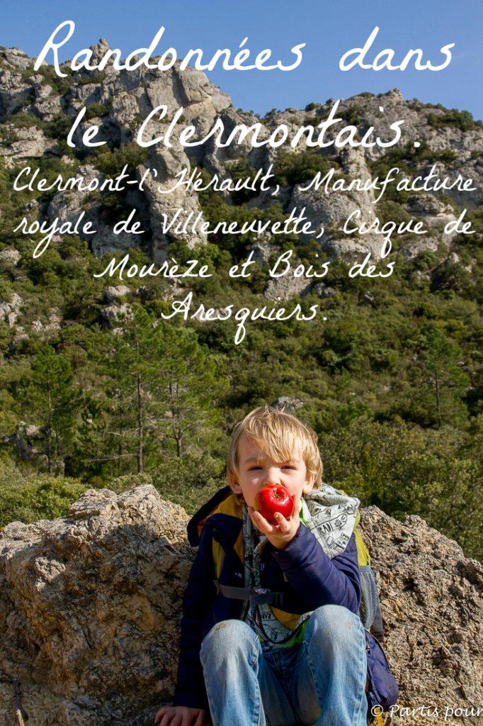 Prendre l'air le temps d'un week-end et randonner dans le Clermontais... De Clermont-l'Hérault au Cirque de Mourèze en passant par Villeneuvette et en faisant un détour par le Bois des Aresquiers et l'étang d'Arnel !