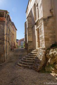 Dans les rues de Clermont-l'Hérault. Randonnées dans le Clermontais