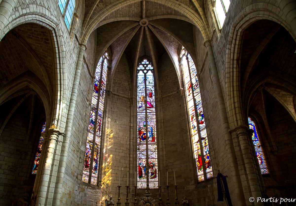 Eglise Saint-Paul de Clermont-l'Hérault. Randonnées dans le Clermontais