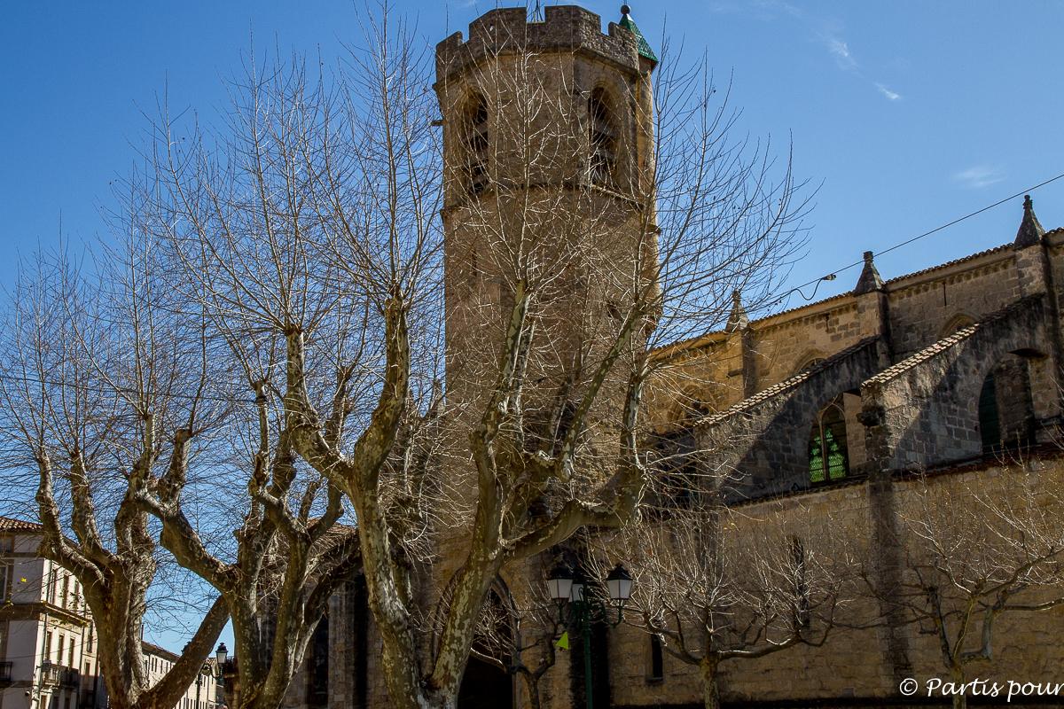 Eglise Saint Paul de Clermont-l'Hérault. Randonnées dans le Clermontais