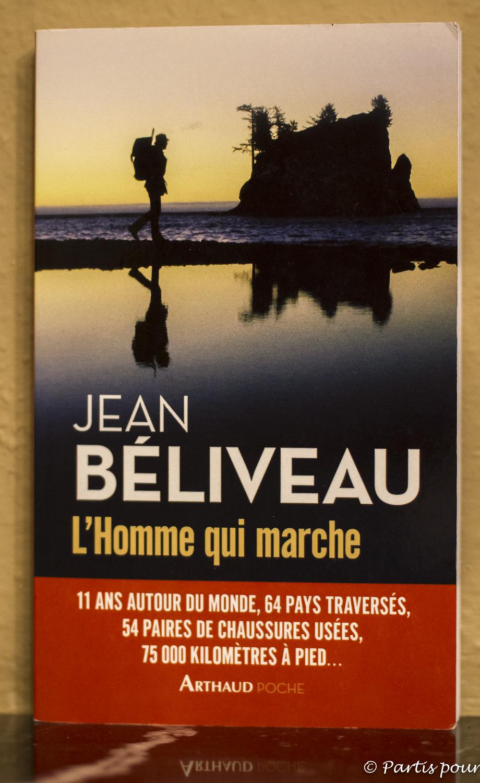 L'Homme qui marche, Jean Béliveau. Quand les livres sont une invitation à la marche.