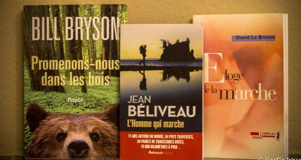 Quand les livres sont une invitation à la marche avec Jean Béliveau, Bill Bryson et David Le Breton