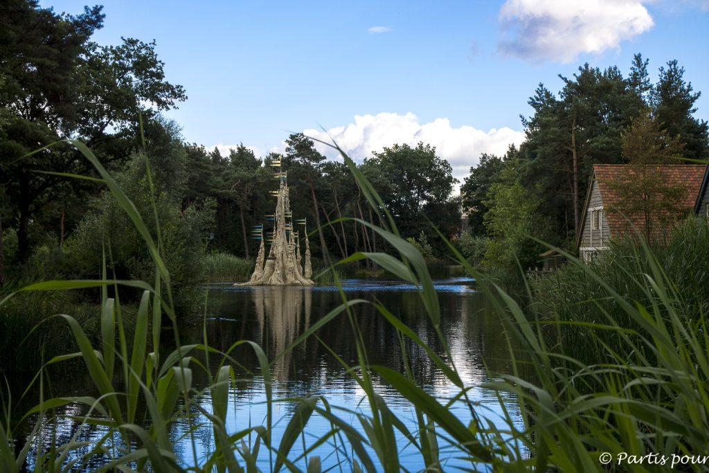 Le lac du Efteling Bosrijk, Pays-Bas