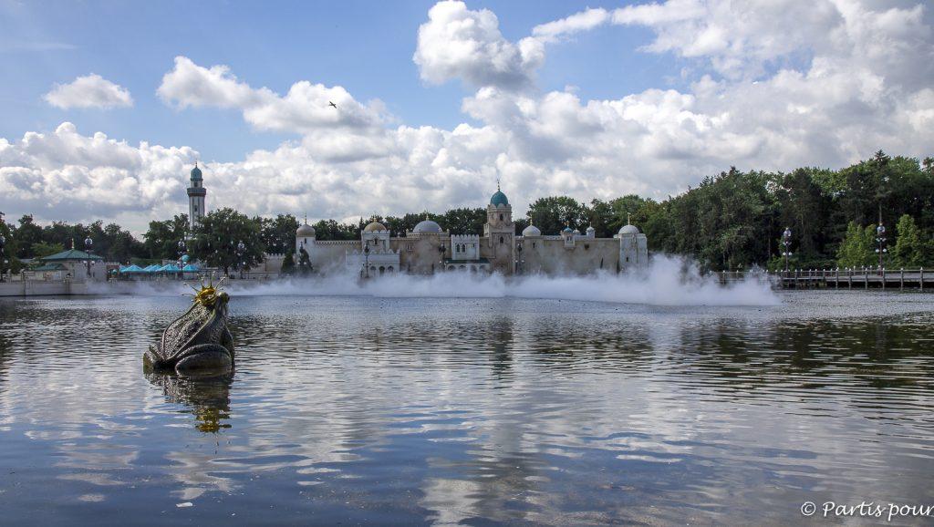 Spectacle d'eau entrant à Efteling, Pays-Bas