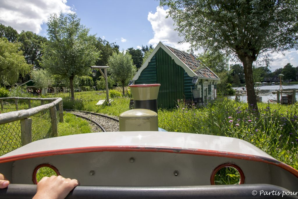 Le petit train à pédales, Efteling, Pays-Bas