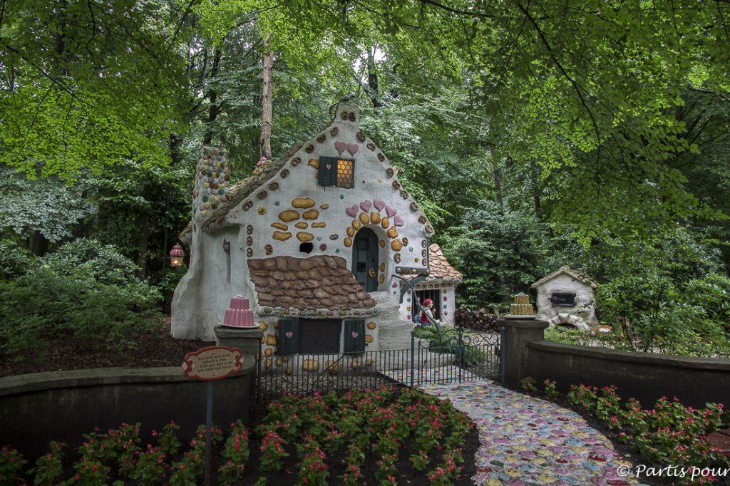 L'univers enchanté, le pays des contes, Hansel et Gretel, Efteling, Pays-Bas
