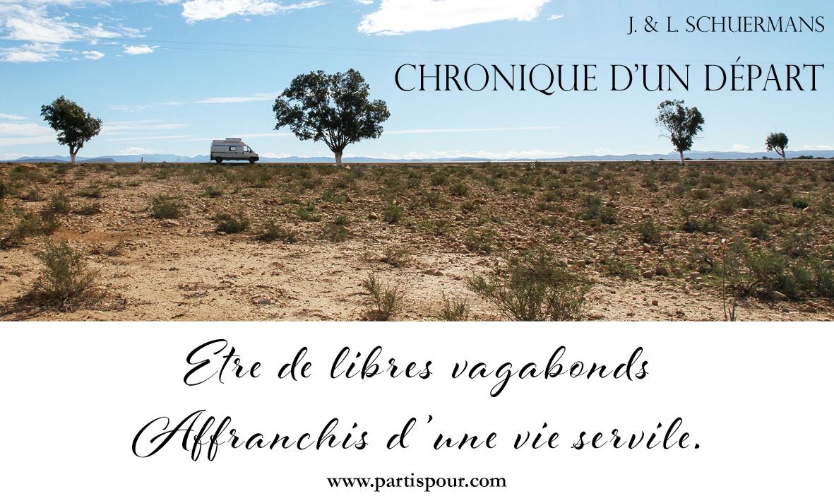 Chronique d'un départ, Joël et Laurence Schuermans