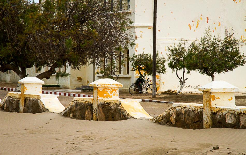 La vaine attente, Tarfaya, Maroc
