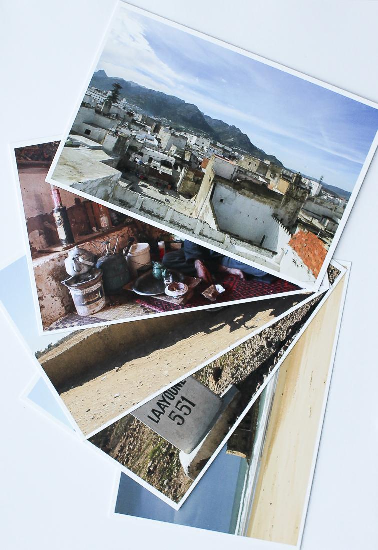 """Les cartes postales """"Chronique d'un départ"""" - Partis pour"""