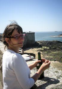 Sur les remparts de Saint-Malo... Les prémices de Chronique d'un départ