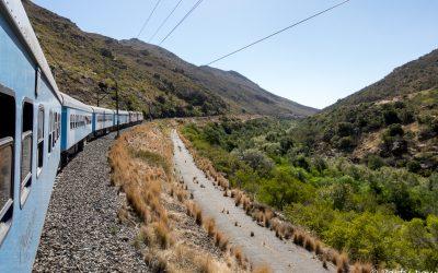 De Johannesburg au Cap en train