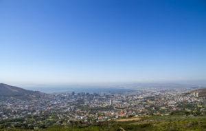 Bilan de l'année 2017. Cape Town, Afrique du Sud