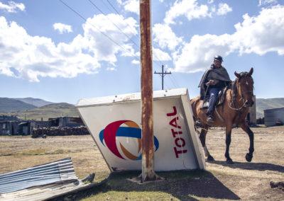 Cavalier de Semonkong, Lesotho