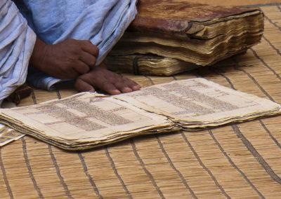 Les manuscrits de Chinguetti, Mauritanie