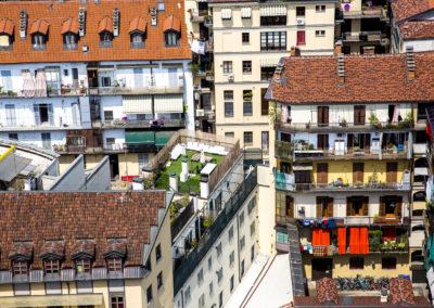 Façades turinoises, Italie