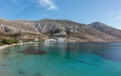 Itinéraire d'un voyage dans les Cyclades