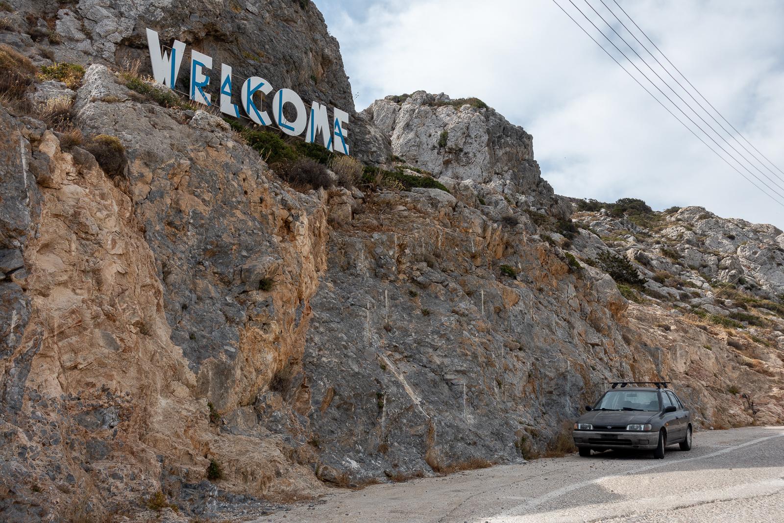 Itinéraire d'un voyage dans les Cyclades : arrivée à Iraklia. Partis pour la Grèce