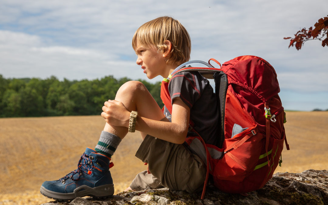 Quel matériel pour une randonnée au long cours avec un enfant ?
