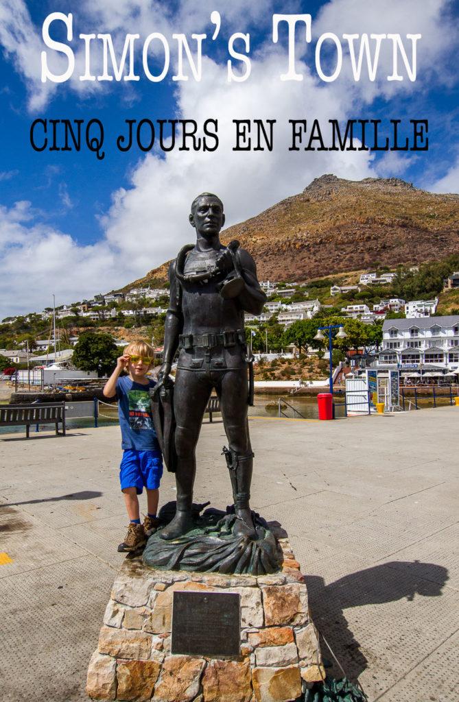 Simon's Town, cinq jours en famille - Partis pour