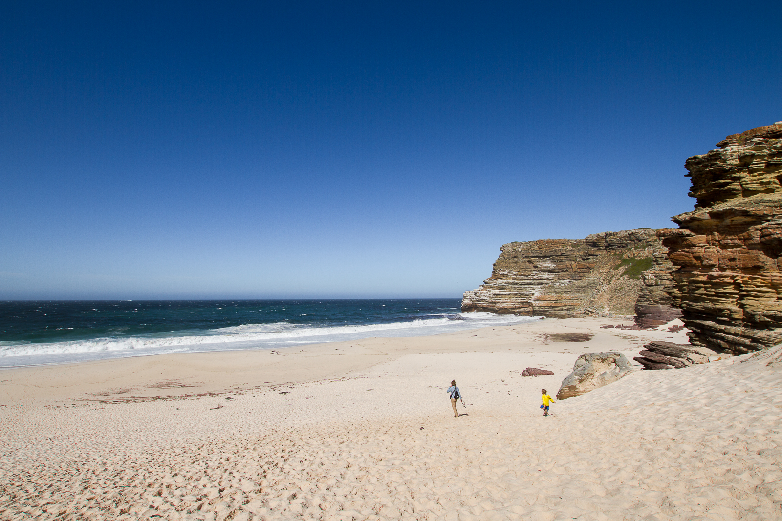 Diaz Beach, Cape of Good Hope, Afrique du Sud - Partis pour
