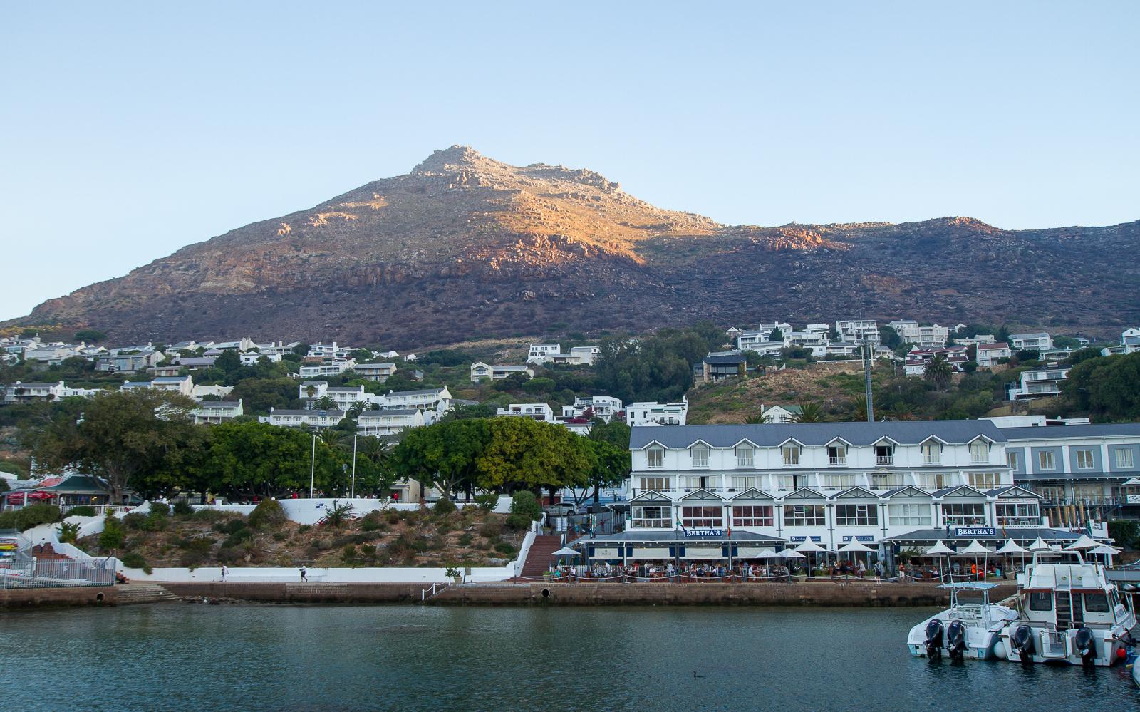 Bertha's Restaurant, Simon's Town, Afrique du Sud - Partis pour