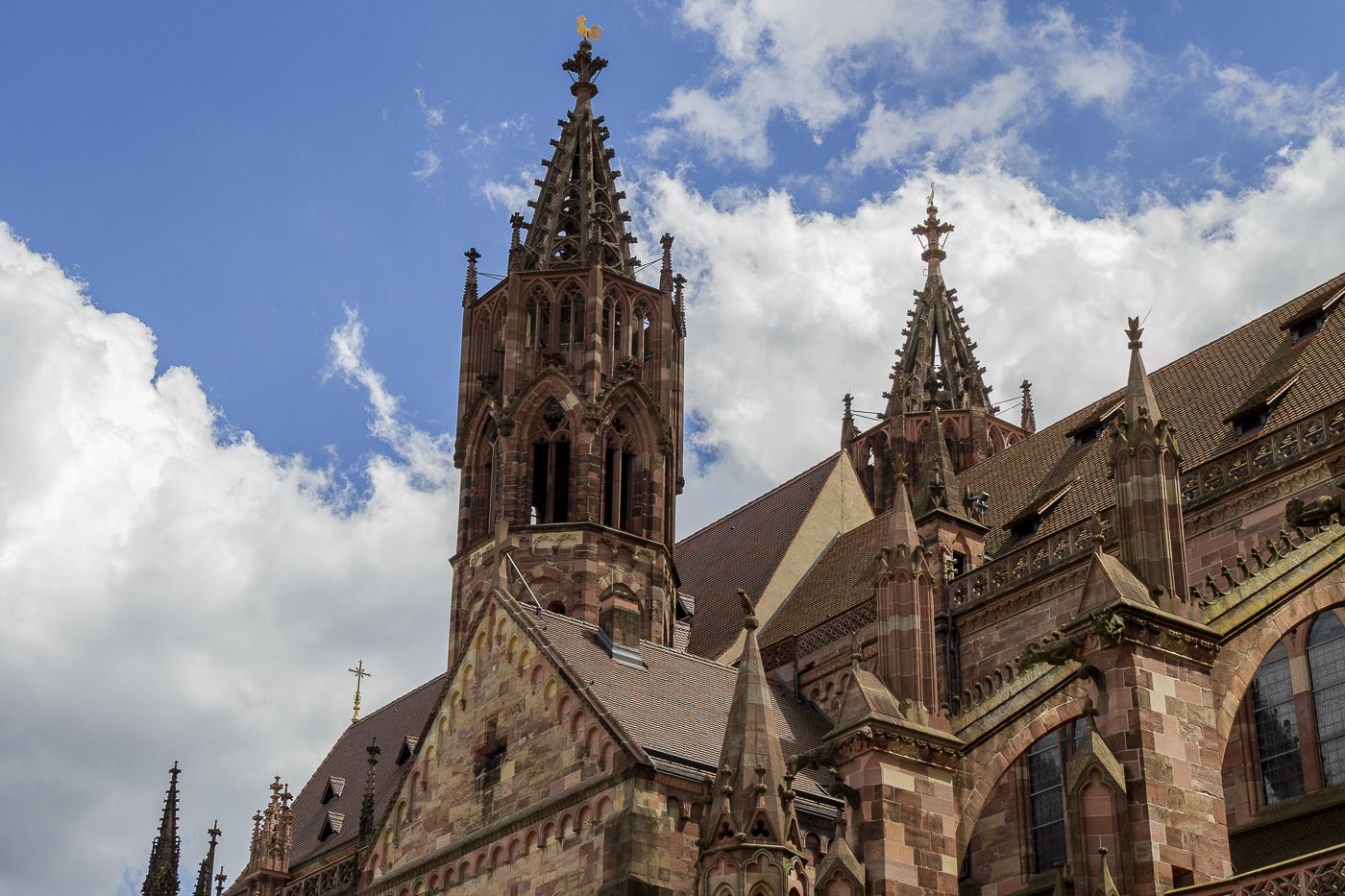 Partis Pour. Trois jours en Forêt-Noire. Cathédrale de Fribourg-en-Brisgau