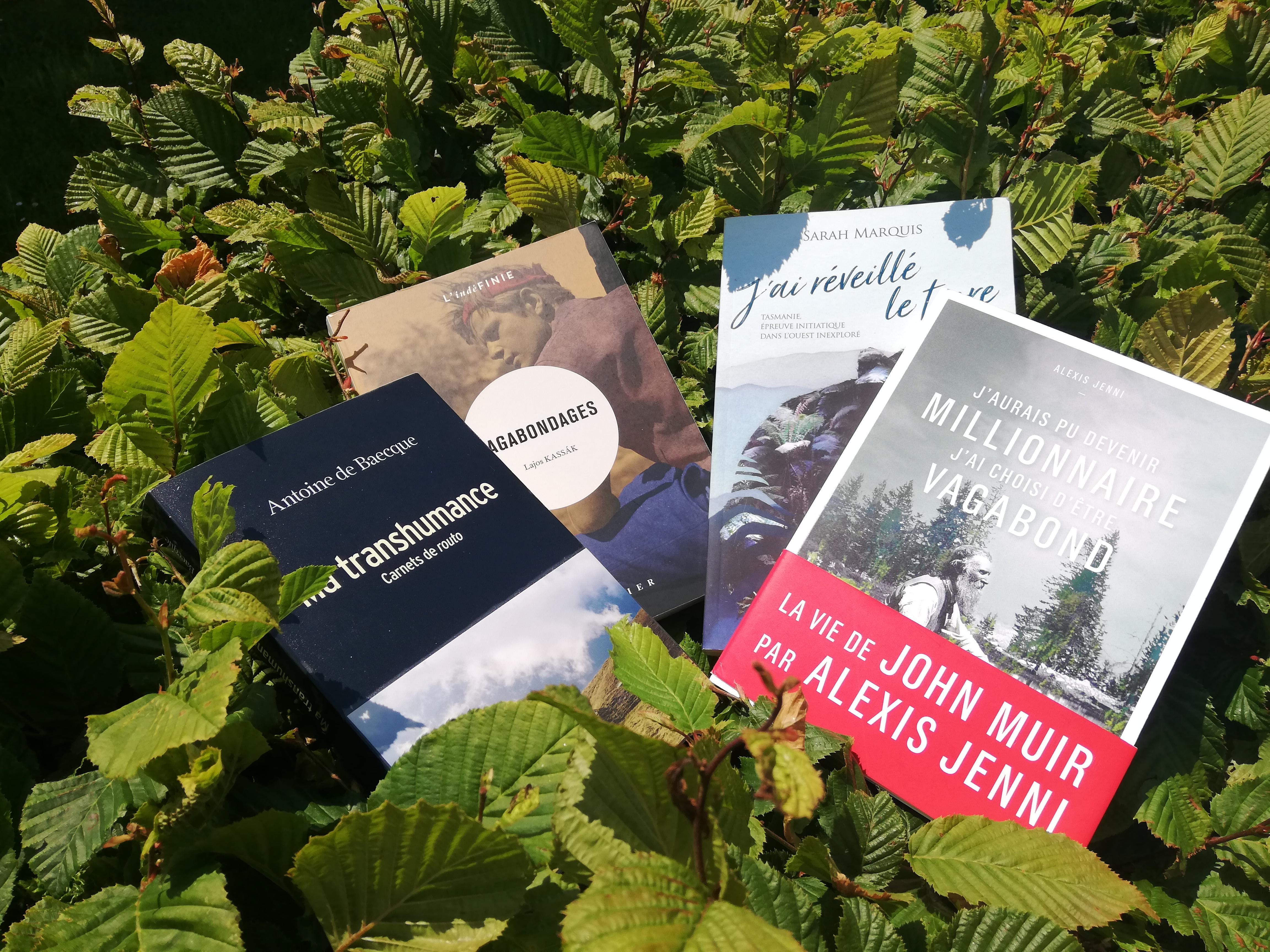 Partis Pour - Quand les livres sont une invitation à la marche. Sarah Marquis, Antoine de Baecque, Alexis Jenni et John Muir, Lajos Kassák