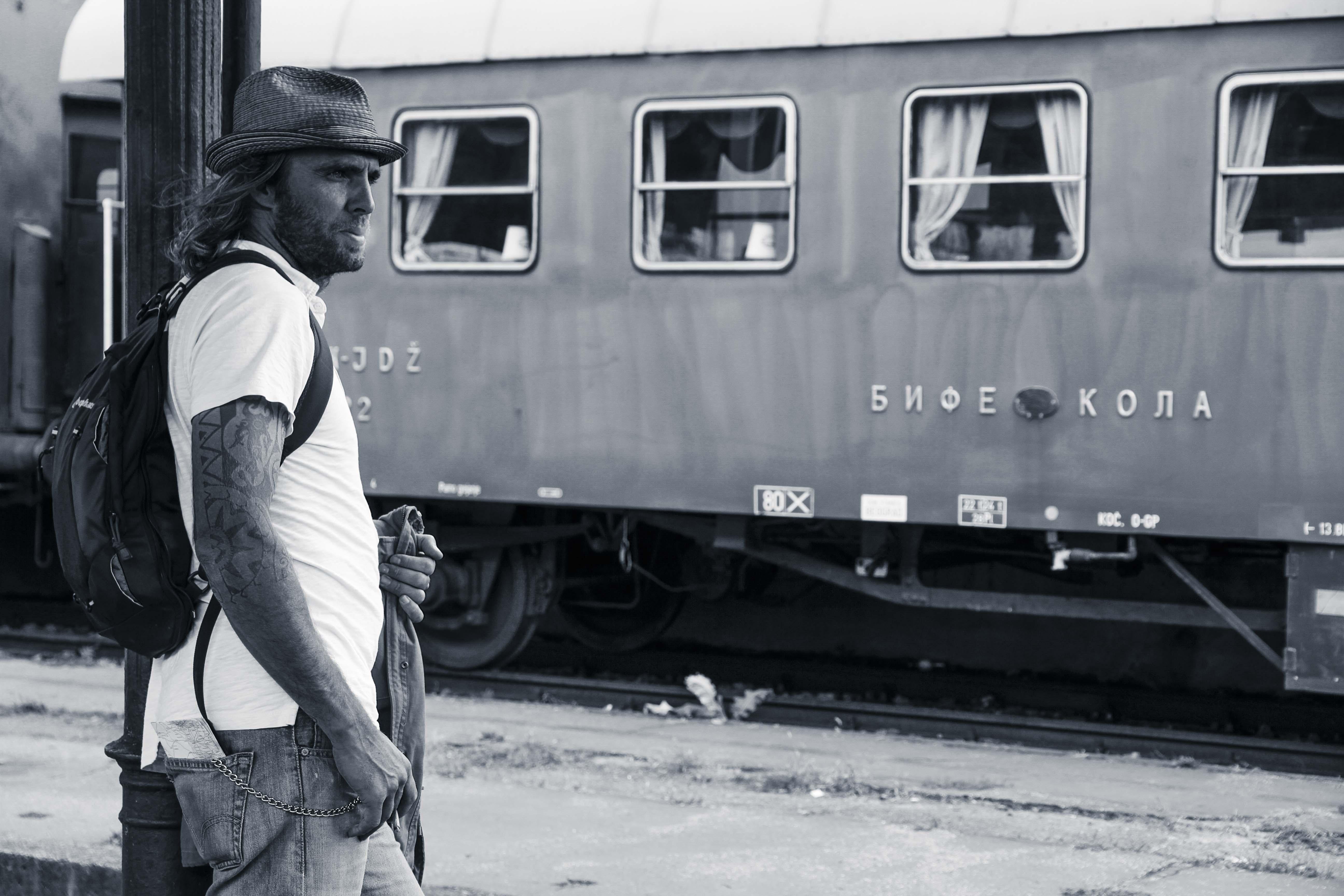 Vers Sarajevo. Une errance ferroviaire de Joël Schuermans. Collection Errances. Editions Partis Pour