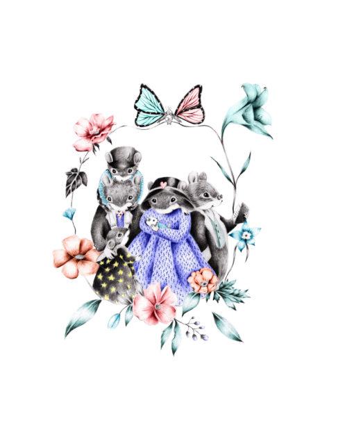 Famille Hope Souris - Elisa Gallois - Florence Robbiano - Partis Pour Editions